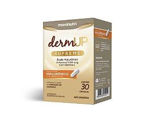 Dermup Supreme com Ácido Hialurônico 30 caps - Maxinutri