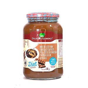 Doce De Leite C/ Chocolate Diet 650g - Doces São Lourenço