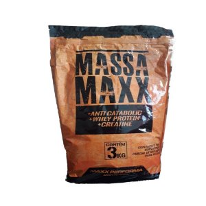 Massa Maxx 3k Chocolate - Maxx Performa