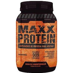 Maxx Protein 909g Morango - Maxx Performa