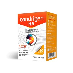 Condrigen H.A (colágeno tipo II / UCII+AC Hialuronico) 30  caps - Maxinutri