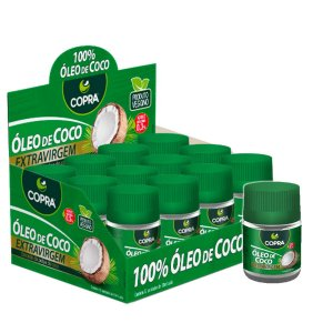 Oleo de Coco Extra Virgem Pote 12x30ml