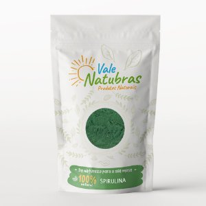 Spirulina 100g - Vale Natubras