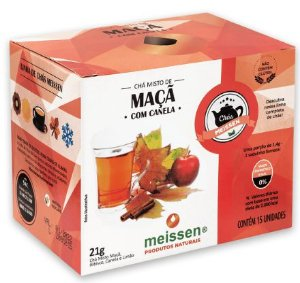 Chá de Maçã c/ Canela 15 Saquinhos - Meissen