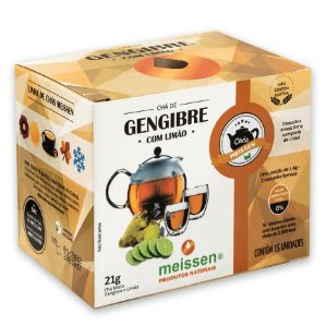 Chá de Gengibre c/ Limão 15 saquinhos - Meissen