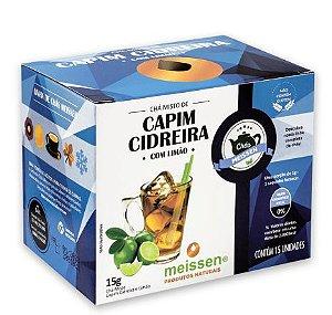 Chá Capim Cidreira c/ Limão 15 saquinhos - Meissen