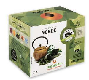 Chá Verde 15 Saquinhos- Meissen