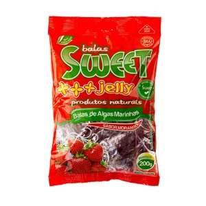 Balas Sweet Jelly 200 gramas - Morango