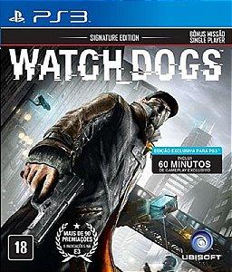 WATCH DOGS (VERSÃO EM PORTUGUÊS) PS3