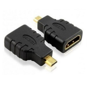 Adaptador HDMI Femea P/ Micro HDMI Macho  Preto