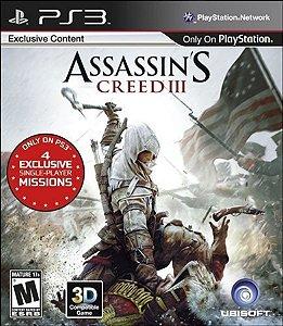 Jogo Assassin's Creed 3 - PS3 GREATEST HITS