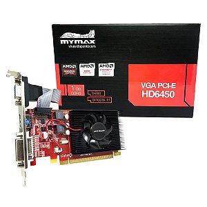 Placa de Video VGA PCI E HD6450 2Gb DDR3 64Bit VGA/DVI/HDMI