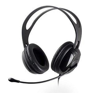 Headset Gamer P2  Cabo de 2.4m em Nylon  Preto