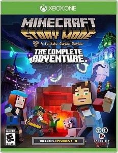 Minecraft: Story Mode  The Complete Adventure  XONE