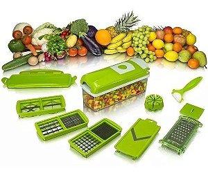 Nicer Dicer Plus Cortador Fatiador Legumes Verduras Frutas -