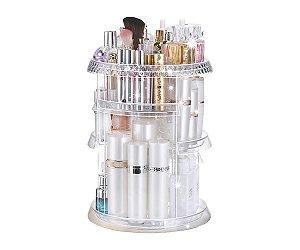 Organizador de maquiagem Giratório 360° Torre em Acrílico