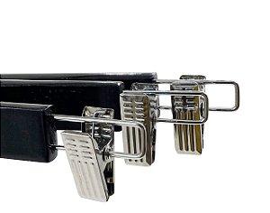 Kit 15 Cabide de Madeira Marfim para Saia Alta Resistência