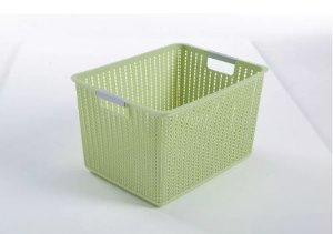 10 Unidades Cesto Organizador De Plástico Multiuso 19,5l