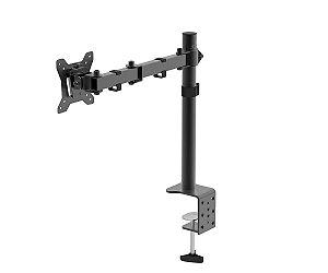 """Kit 5 Suportes  de mesa TV/monitor até 27"""" articulado em aço"""