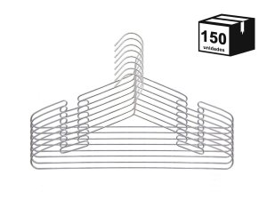150 Cabides Luxo Executivo Cava De aço Cromado