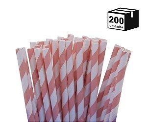 200 un Canudos De Papel Biodegradável 6mm Espiral
