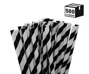 500 un Canudos De Papel Biodegradável 6mm Espiral