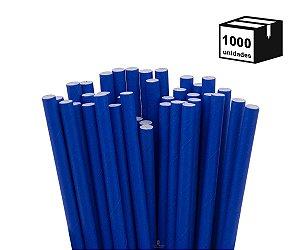1000 Unidades Canudos de Papel Biodegradável 6mm