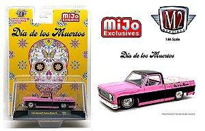 M2 Machines 1:64 1973 Chevy Silverado -Dia De Los Muertos