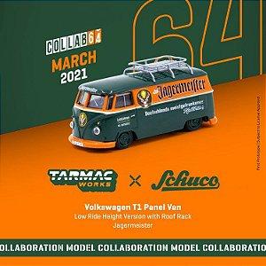 VW T1 Panel Van Jagermeister - Collab64 - Tarmac x Schuco  - Pré venda