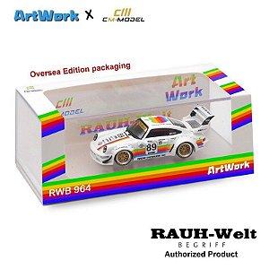 Porsche 964 RWB Apple - CM X Artwork - Pré venda