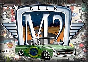 Placa MDF - Club M2 Brazil