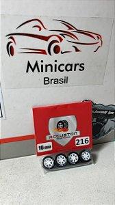 Rodinha - 1/64 - 216 - 10mm