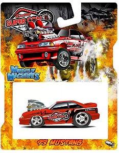 Pré venda - Muscle Machines 2022 Las Vegas Convention Exclusive Foxbody Mustang - Junho 2022 - Leia a descrição