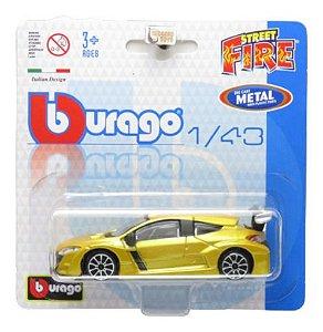 Renault Megane Rs - Street Fire Blister - 1/43 - Burago