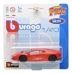 Lamborghini Aventador Lp700 Street Fire Blister 1/43 Burago