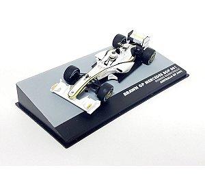 Brawn 2009 Rubens Barrichello 1/43 Lendas F-1 1:43
