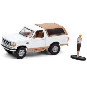 1996 Ford Bronco Eddie Bauer with Backpacker - The Hobby Shop 10 - Greenlight