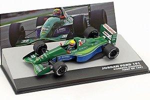 F1  Jordan 191 1991 R. Moreno #32