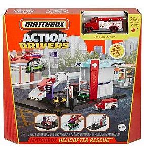 Corpo de Bombeiros - Action Drive - Acompanha 1 miniatura