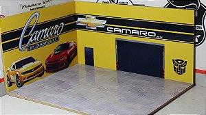 Diorama Camaro - 1/64 - MDF