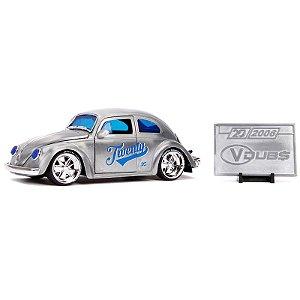 1:24 - 1959 Volkswagen Beetle Fusca - 20th Anniversary - Jada Toys