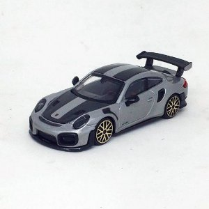 Porsche 911 GT2 RS - Prata - Street Fire - 1:43 - Burago