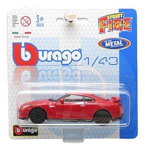 2017 Nissan GTR  - Street Fire  - 1/43 Burago