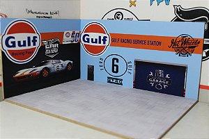 Diorama Gulf - 1/64 - MDF