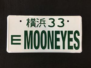 MOONEYES JDM LICENSE PLATE #33