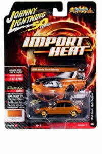 Honda Civic 1998 Dourado Import Heat -