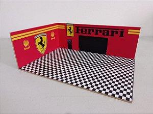 Diorama Ferrari - 1/43