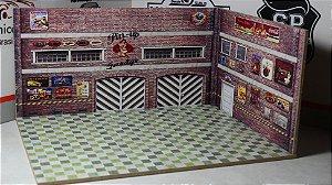 Diorama Pin-up - MDF - 1/64