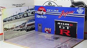 Diorama Skyline - 1/64 - MDF