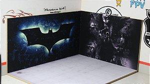 Diorama Batman - 1/64 - MDF